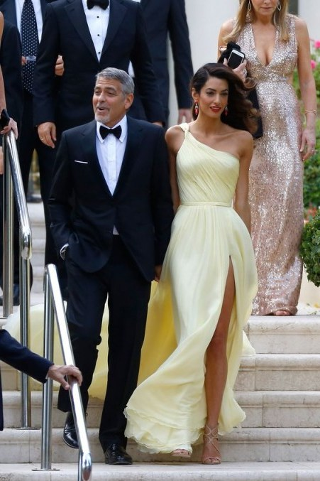 Amal Clooney…breathtaking in Atelier Versace ~ style icon - flipped