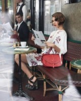 Model Arizona Muse for Louis Vuitton 2012 ~ chic vintage style