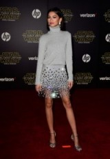 Zendaya Coleman style ~ luxe outfits ~ jewelled skirts ~ celebrity fashion