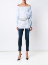 CHANEL VINTAGE pearl bow pearl chain belt / statement belts / designer accessories