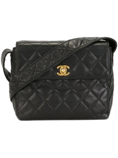 CHANEL VINTAGE quilted shoulder bag…love this little bag, so so cute! / designer handbags / luxe bags / statement accessories - flipped