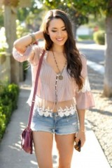 California style fashion / casual summer outfits
