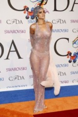 Rihanna stunner in sheer pink gown ~ style ~ glamour