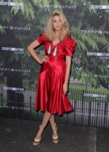 Tamsin Egerton arrives for the Serpentine Summer Party in London, 6 July 2016. Celebrity fashion | celebrities at events | red dresses | event outfits