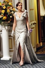 Blair Waldorf glamour ~ gossip girl gowns ~ fashion ~ Leighton Meester ~ glamorous outfits ~ long dresses