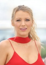 Blake Lively's hair and make up at the 2016 Cannes Film Festival – celebrity beauty – hairstyles – messy high ponytail