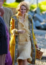 Blake Lively on the set of The Age of Adaline – period costume fashion – 20s style – luxe vintage clothing – 1920s chic style