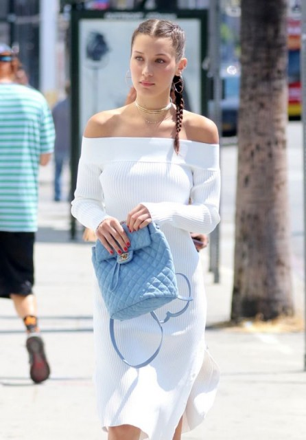Bella Hadid Summer Street Style Casual Chic Celebrity