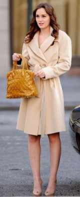 Blair Waldorf chic style ~ gossip girl coats ~ bags ~ outfits ~ luxe fashion