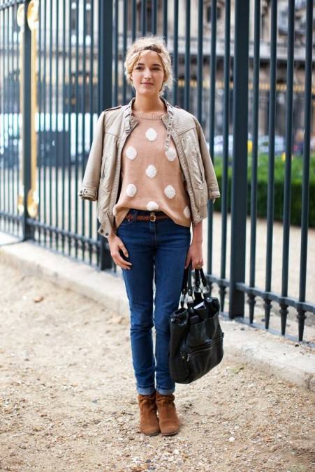 Paris street style – French fashion – casual chic outfits ...