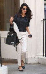 Amal Clooney effortless style outfit