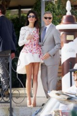Amal and George…such style! ~ celebrity couples ~ stylish celebrities