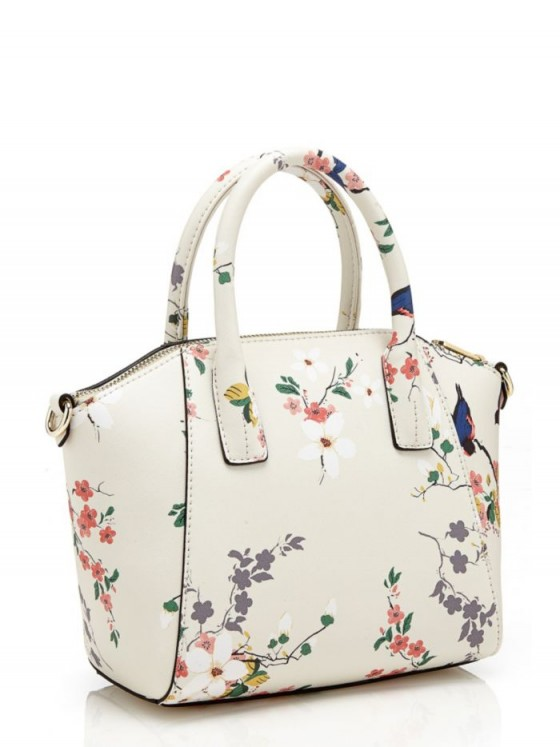 GUESS ISABEAU SMALL FLORAL HANDBAG ~ flower printed ...
