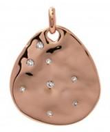 MONICA VINADER ROSE GOLD-PLATED SIREN SCATTER TEARDROP PENDANT. Topaz pendants | modern style jewellery
