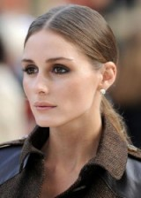 Olivia Palermo sleek ponytail. Celebrity hairstyles | make up and beauty | star style looks | long hair