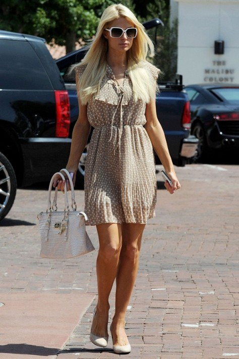 Paris Hilton Summer Street Style Celebrity Fashion