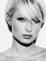 Paris Hilton stunning with short hair