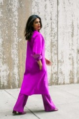 Priyanka Chopra by Andre Wagner for The Cut ~ celebrity photoshoots ~ purple outfits