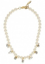JOOMI LIM Swarovski faux pearl-embellished necklace. Crystals and pearls | occasion necklaces | luxe fashion jewellery