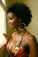 Model Tomiko Fraser Hines ~ beautiful women ~ black beauty ~ afro hair ~ natural hairstyles
