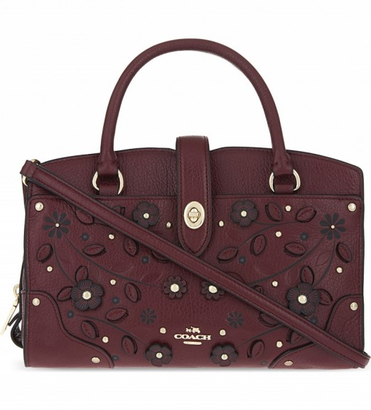 Coach Leather Embossed Handbags Quality Coach Discount