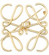 LOEWE Anagram brooch – brooches – jewellery