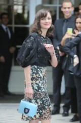 Marion Cotillard at Dior Haute Couture F/W 2016-17 at PFW, July 4, 2016 – French style – stylish women – chic outfits