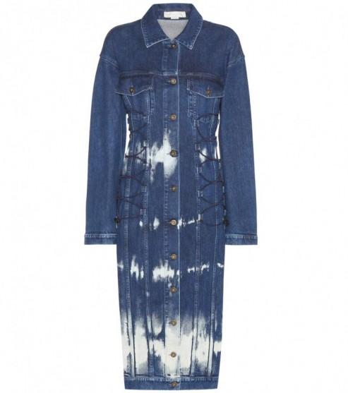 STELLA MCCARTNEY Denim dress. Designer fashion   blue denim dresses   designer clothing