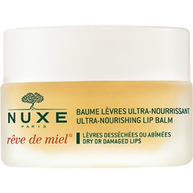 NUXE BAUME LEVRES REVE DE MIEL – HONEY LIP BALM – soft lips – beauty balms – nourishing lip balm