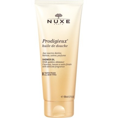 NUXE HUILE PRODIGIEUX SHOWER OIL – luxurious shower oils – luxe body washes – beauty products