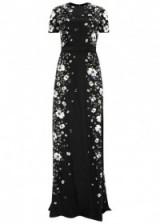 ERDEM Samira rosehip-print silk gown – red carpet style gowns