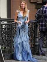 Serena van der Woodsen in Carolina Herrera ~ gossip girl gowns ~ designer fashion ~ Serena's dresses