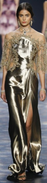 Catwalk glamour ~ luxe gowns ~ glamorous fashion