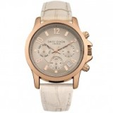 Daisy Dixon Ladies' Nude Leather Strap Watch ~ womens stylish watches ~ accessories ~ style