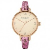 Daisy Dixon Sophia Pink Metallic Watch ~ ladies watches ~ womens accessories ~ jewellery ~ style