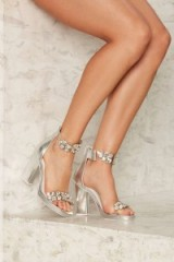 Jeffrey Campbell Soiree Rhinestone Heel – these from Nasty Gal look wonderful