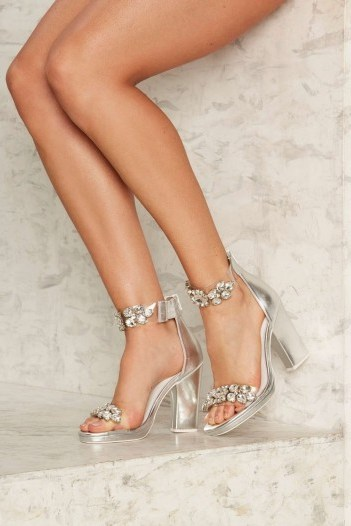 Jeffrey Campbell Soiree Rhinestone Heel – these from Nasty Gal look wonderful - flipped