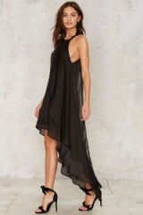 Just Say Flow Layered Dress ~ party dresses ~ black evening wear ~ occasion glamour ~ feminine style ~ going out chic