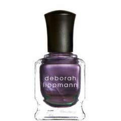 DEBORAH LIPPMAN NAIL COLOUR 059 WICKED GAME – perfect evening nail varnish – party cosmetics – purple polish