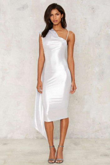 Nasty Gal Foiled Again Midi Dress – would look perfect at any party