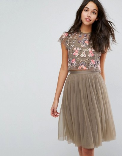 Needle & Thread Ditsy Scatter Embellished Top – it is just so pretty