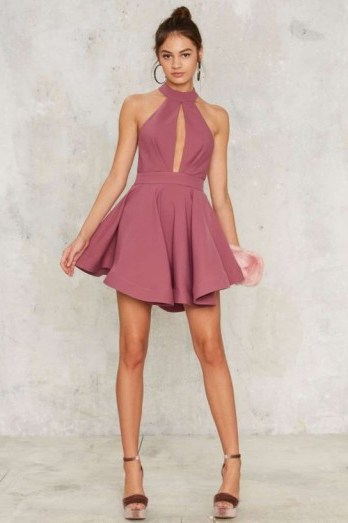 Shanghai Surprise Cut-Out Dress – Pink Nasty Gal love it! - flipped
