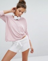 Sundry Heather Terry Top – ASOS knocking it out of the park again!