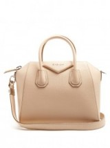GIVENCHY Antigona small nude leather tote ~ effortlessly stylish bags ~ chic handbags ~ designer accessories ~ effortless style ~ chic look
