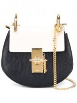 CHLOÉ nano Drew crossbody bag – luxe mini bags – small luxury shoulder bags – leather accessories – designer handbags