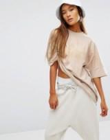Ellesse XXL Oversized Boxy Cream T-Shirt. Casual style   on-trend fashion   sportswear   t-shirts   stylish tops   weekend look