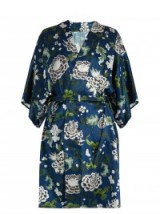 ADAM LIPPES Floral-print kimono jacket. Oriental style silk-satin jackets   printed kimonos   silky   luxury designer fashion