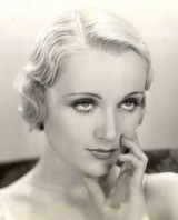 American actress Carole Lombard – 30s vintage hair & beauty – 1930s – beautiful Hollywood women