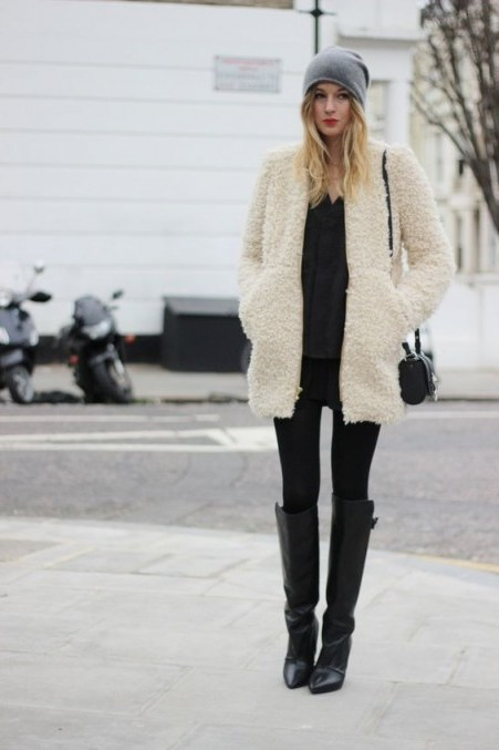 Stylish chic and snugly | winter street style outfits - flipped