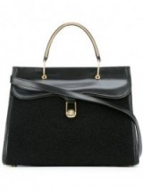 OLYMPIA LE-TAN Marguerite black tote – designer handbags – luxe bags
